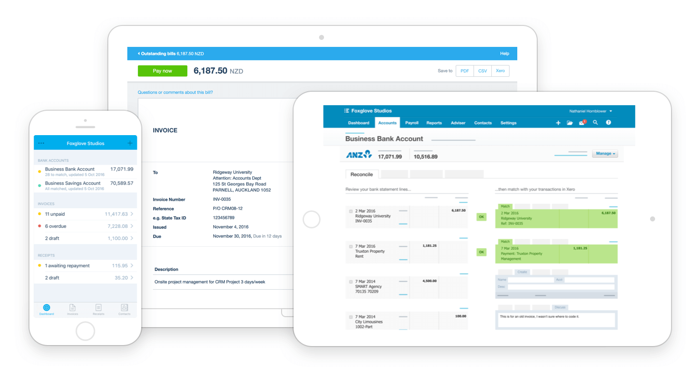 Cloud based accounting with Xero Lipins Partners